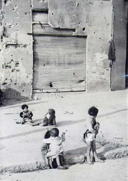 Spanish Civil War children