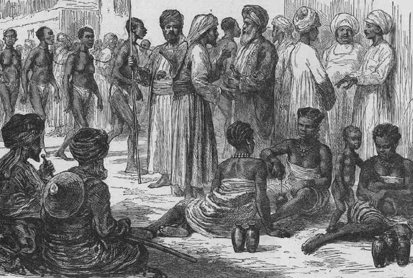 Image result for sub saharan slave trade