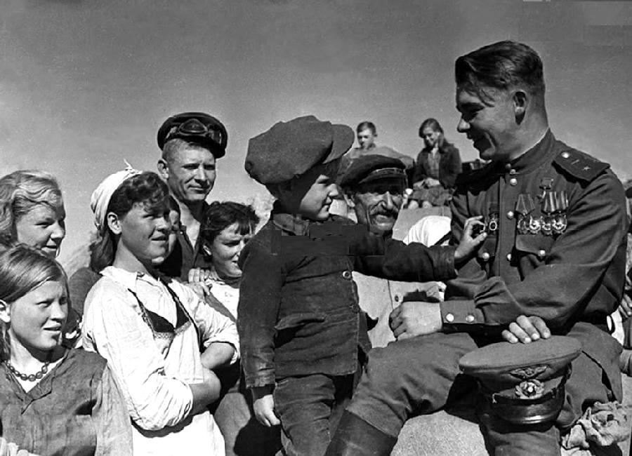 World War II Great Patriotic War -- impact on the Soviet Union