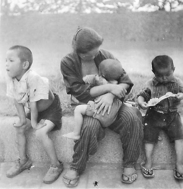war and social upheaval: World War II Japan home front food