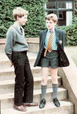 Boys Knee Socks Turn Over Top Socks Knee Socks