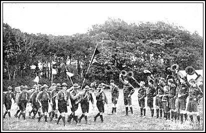 U S  boy scout history chronology
