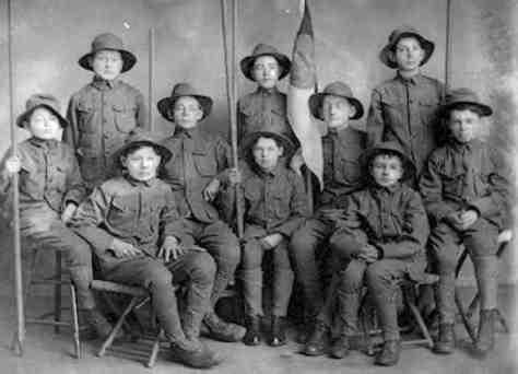 u s boy scouts the 1910s