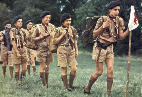 English boy scout uniforms